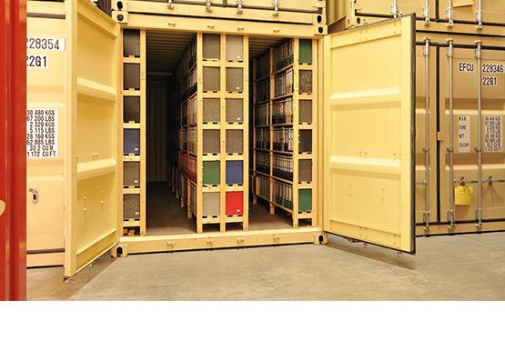 Archiv auslagern und bei Christ Logistik einlagern