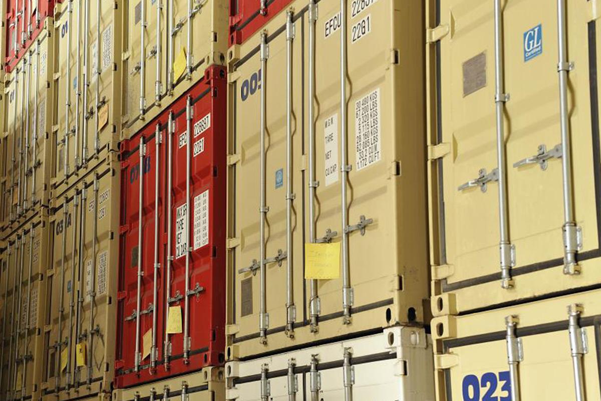 Spedition möbel einlagern  Einlagerung in Frankfurt - Christ Logistik