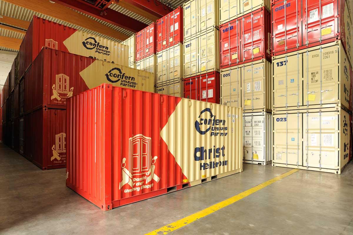 Einlagerung Self Storage In Heilbronn Christ Logistik