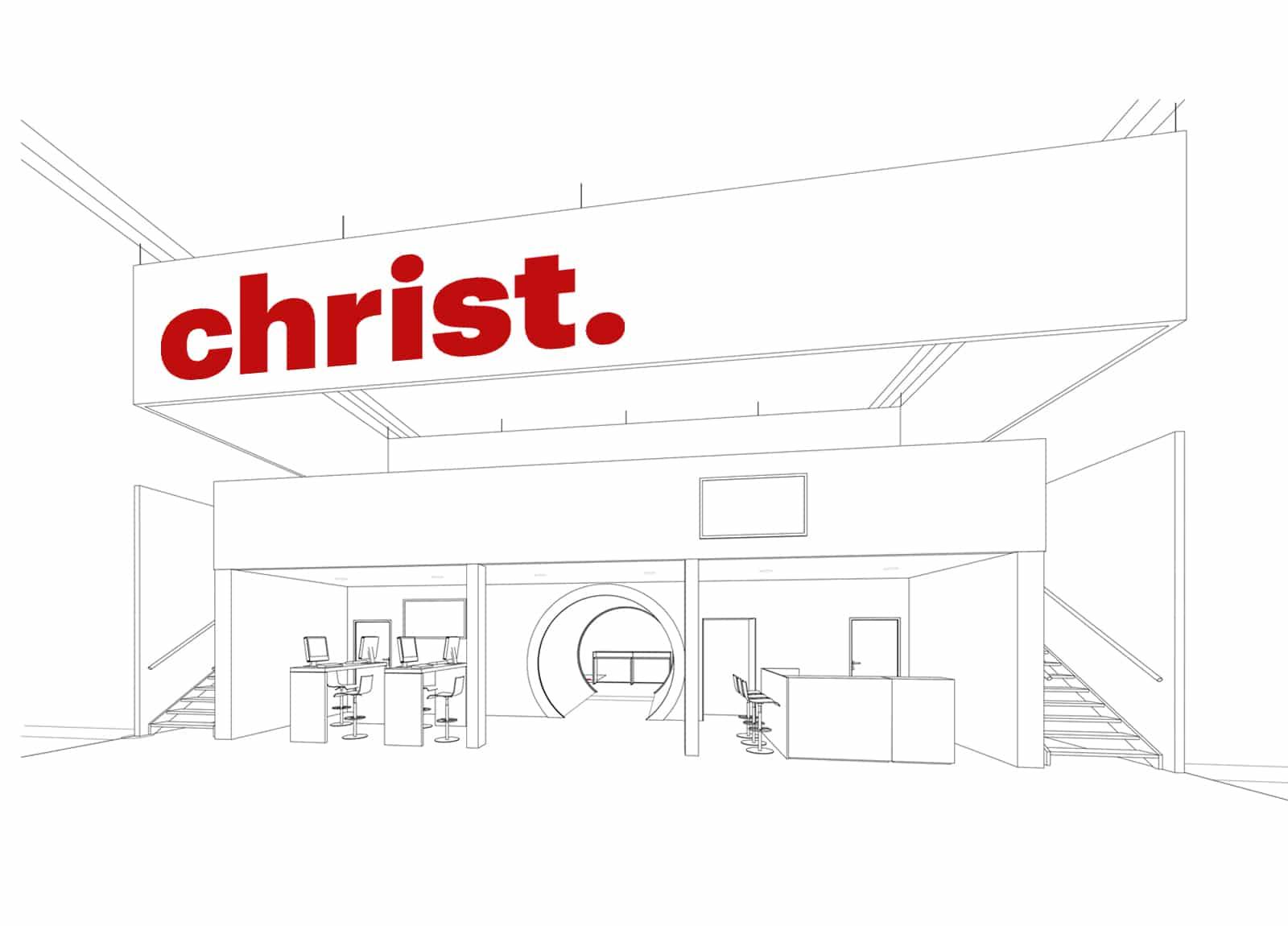 Standdesign eines Messestandes zur Messeplanung