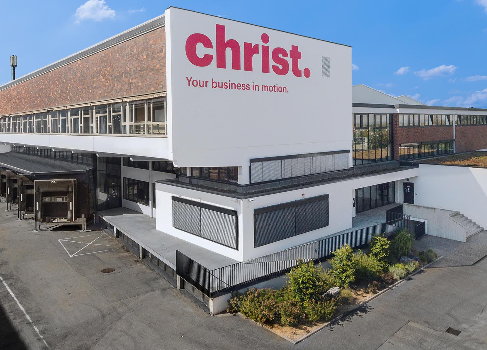 Christ Logistik Niederlassungen Gebäude